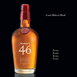 It isn't Maker's Mark®. Is too. Is not...