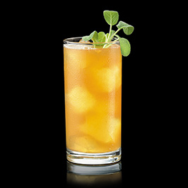 Apricot Sage Bourbon Cocktail