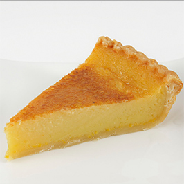 Buttermilk Bourbon Pie