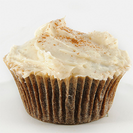 Maker's Mark® Cupcakes with Cinnamon Cream Cheese Frosting