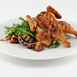Maker's Mark® & Apricot Glazed Spatchcocked Chicken