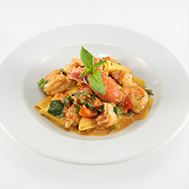 Lobster Shrimp Pasta with Maker's Mark®