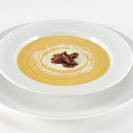 Butternut Squash Soup with Maker's Mark® Crème Fraiche