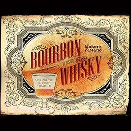 Bourbon vs. Whisky
