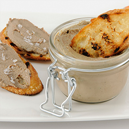 Bourbon Chicken Liver Mousse